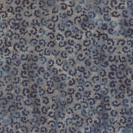 Wilmington Batik  - Blue and Gray Swirls