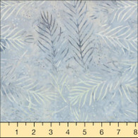Wilmington Batiks - Light  Blue-Gray Sprigs