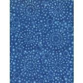Wilmington Batiks - Medium Blue Print