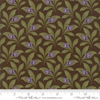 Sweet Violet - Floral Brown