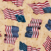 American Pride - Flag Tossed