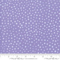 Good Day - Tossed Dots Purple
