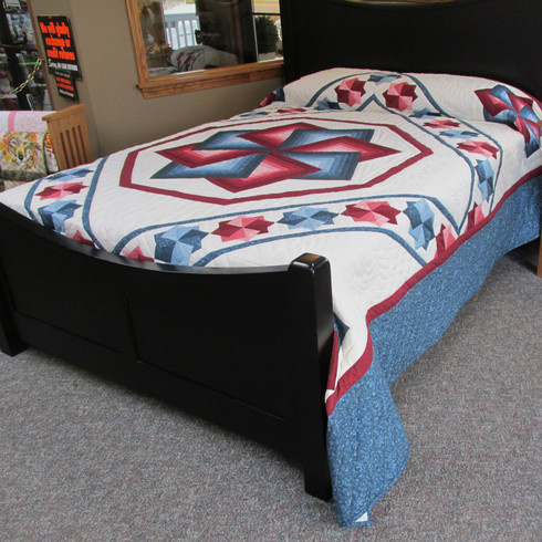 """Star Spin Quilt - 101"""" by 110"""""""