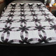 """Double Wedding Ring Quilt - 100"""" by 110"""""""
