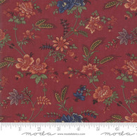 Milestones - Multi Color Flowers on Red