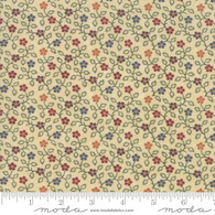 Milestones - Small Multi Color Flowers on Tan