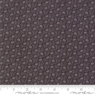 Urban Farmhouse - Small Light Grey Flowers on Dark Grey
