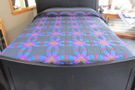 "Double Wedding Ring Quilt  102"" by 110"""