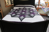 "Chrysalis Star Quilt   101"" by 112"""