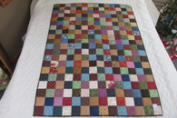 Patchwork Throw/Lap Quilt 41x58