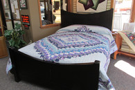"Jacqueline Bargello Quilt  -  95"" by 107"""