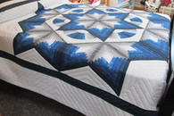 Chrysalis Star with Fan Quilt - 104 x 114
