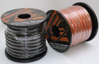 Crescendo 1/0 Gauge Tinned OFC Power Cable (Orange)
