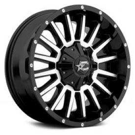 Black Dropstars 645MB Wheels & Rims
