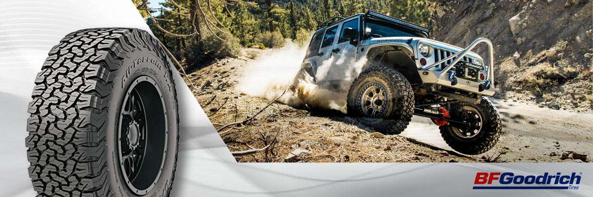 BF Goodrich Tires Web Banner