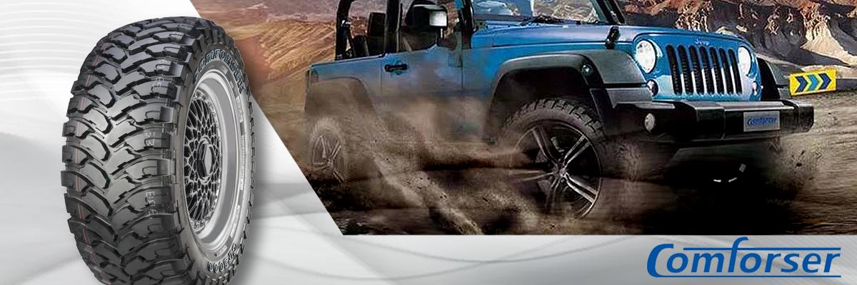Comforser Tires Web Banner