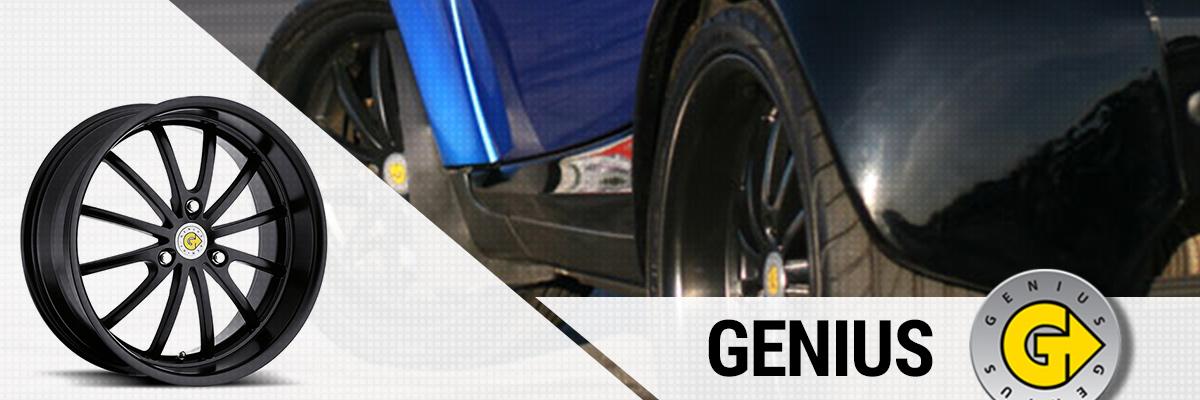 Genius Wheels Web Banner