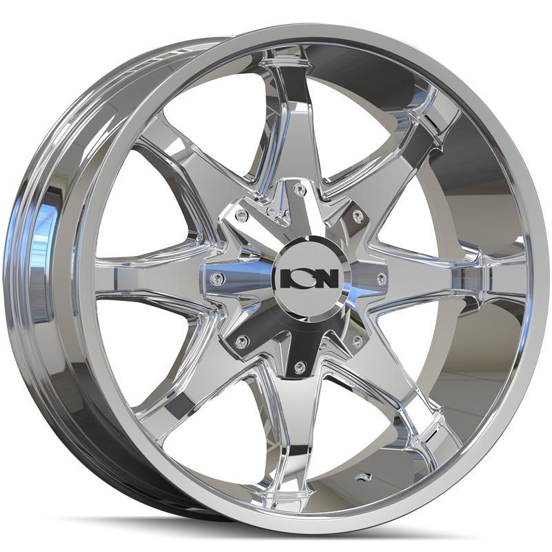 Ion Style 181 Wheels Chrome | Ion Alloy 181 Rims PVD Chrome