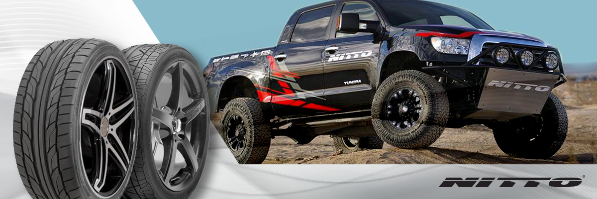 Nitto Tires Web Banner