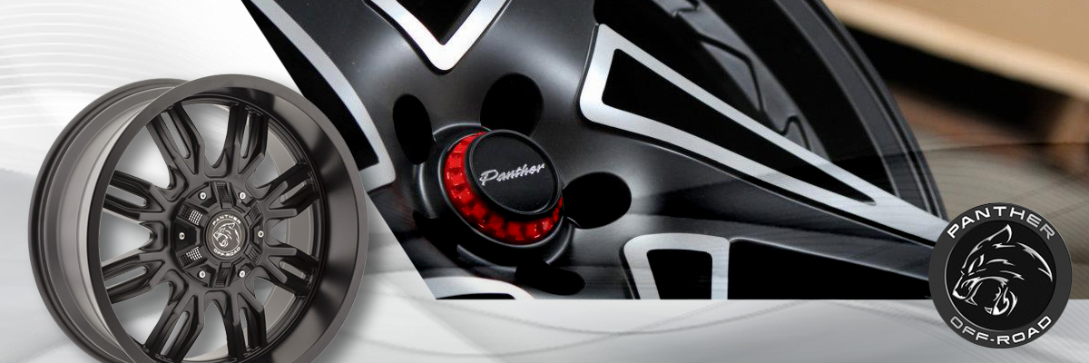Panther Off-Road Wheels Web Banner