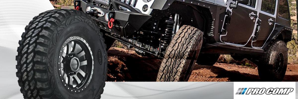Pro Comp Tires Web Banner