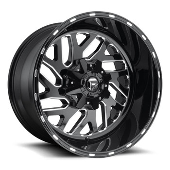 Fuel Triton D581 Wheels Rims 20x12 Black Milled 5x5.5 (5x139.7) 5x150 -43mm | D58120207047 | Free Shipping!