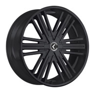 Kraze Hookah 145 Wheels Rims 26x10 Black 5x115 5x120 18mm | KR145-261028B | Free Shipping!