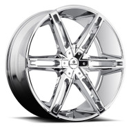 Kraze Mania 311 Wheels Rims 26x10 Chrome 5x115 5x120 20mm | KR311-261028C | Free Shipping!