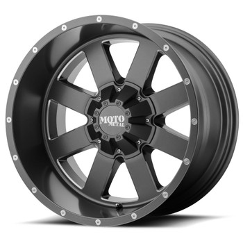 Moto Metal MO962 Custom Blank Wheels Rims 18x9 Gray 0mm | MO96289000400 | Free Shipping!