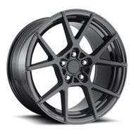 Rotiform KPS S139 Wheels Rims 20x8.5 Black 5x4.5 (5x114.3) 35mm | R139208565+35 | Free Shipping!
