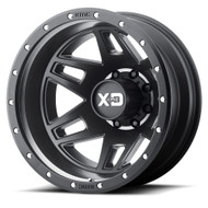 XD Series Machete Dually Wheel 20x7.5 Gray 8x6.5 -97mm Chevy Fitment  - FREE LUGS & IN CART DISCOUNT!!