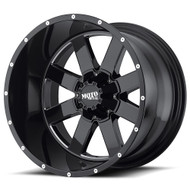 Moto Metal MO962 Wheels Rims 22x10 5x127 5x5 5x5.5 5x139.7 Black -18  | MO96222035318N