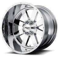 Moto Metal MO962 Wheels Rims 20x10 5x127 5x5 5x5.5 5x139.7 Chrome -24  | MO96221035224N