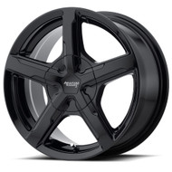 American Racing Trigger AR921 Wheels Rims Black 17x8 Blank Custom Drilled 15 | AR92178000315