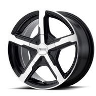 American Racing Trigger AR921 Wheels Rims Black Machined 17x8 Blank Custom Drilled 15 | AR92178000515