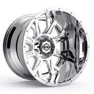 Gear Alloy Kickstand 742C Wheels Rims Chrome 20x12 8x6.5 (8x165.1) -44 | 742C-2128144