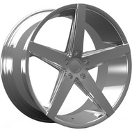 Rosso Affinity 705 Wheels Rims Chrome 20x10 5x4.5  25 | 7052101225C