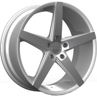 Rosso Affinity 705 Wheels Rims Machined Silver 20x8.5 5x115 15 | 7052851515MS