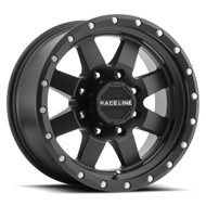 Raceline Defender 935B 15x10 Wheels Rims Black -50 | 935B-51055-50