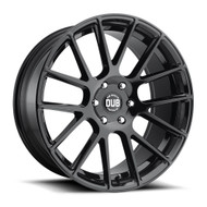 DUB Luxe S205 22x9.5 Wheels Rims Black 30 | S205229577+30