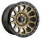 Fuel Vector D600 20x10 Wheels Rims Bronze -18 | D60020008347