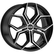 MKW M121 18x8 Wheels Rims Black 40 | M121-1880003140B
