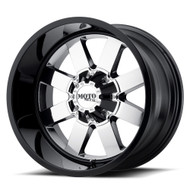 Moto Metal MO962 20x12 Wheels Rims Black Chrome Center -44 | MO96221200944N