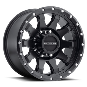 Raceline Clutch 934B 20x10 Wheels Rims Black -19 | 934B-21081-19