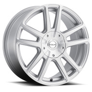 Raceline Encore 145S 17x7.5 Wheels Rims Silver 40 | 145S-77582+40