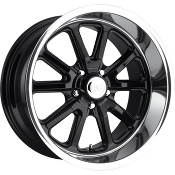 US Mags Rambler U121 17x7 Wheels Rims Black 1 | U12117706140