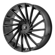 Asanti ABL-18 28x10 6x135 6x5.5 (6x139.7) Gloss Black Wheels Rims 30 | ABL18-28106630GB