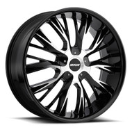 MKW M122 18x8 5x110 5x115 Black Machined Wheels Rims 40 | M122-1880003140B