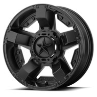XD Series UTV Rockstar 2 XS811 14x7 Satin Black Wheels Rims 4x110 0 | XS81147040700