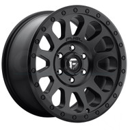 Fuel UTV Vector D579 14x7 Black Wheels Rims 4x136 - 4x137 38 | D5791470A654